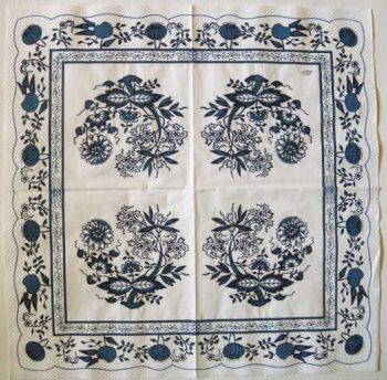 Decoupage Paper Art Napkin - Zwiebelmuster (Blue Onion) Porcelain Pattern
