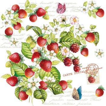 romantic strawberry