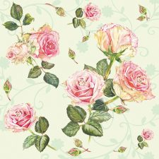 rose in the green