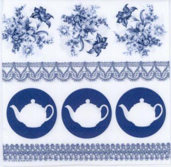 blue teapot flower