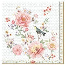 birds in the roses branch
