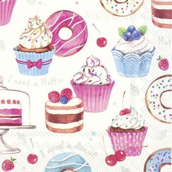 Cake & donut