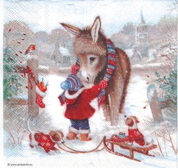 kid dog & donkey