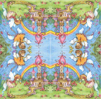 Magic Fairies with castle