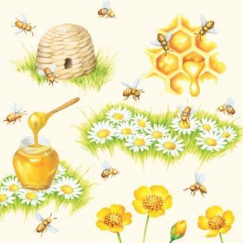 BEE & BEE HIVE