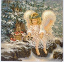 little angel christmas