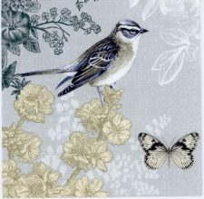 Event Paper Napkins Bird Butterfly Peace