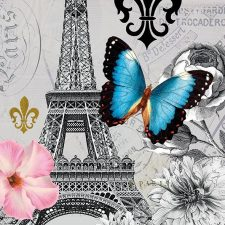 Decoupage Napkins | Icons of Paris