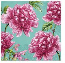 Decoupage Napkins | Wild Pink Peonies