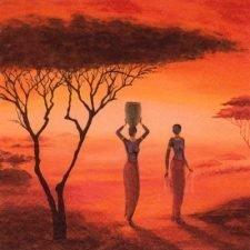 Decoupage Paper | African Sunrise Napkins