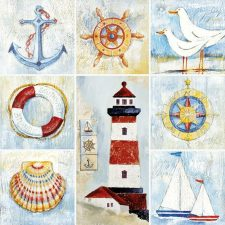 Decoupage Paper | Beach Napkins