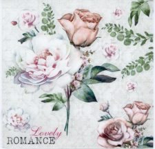 Decoupage Paper | Lovely Romantic Rose Napkins