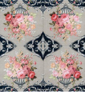 Decoupage Paper Napkin | Vintage Bouquet of Roses-2