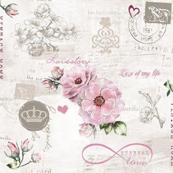 Decoupage Paper Napkins | Love Letter & Roses