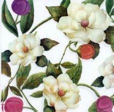 Decoupage Paper Napkins | Lovely Romantic Magnolias