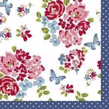 Decoupage Paper Napkins | Vintage Rose Pattern