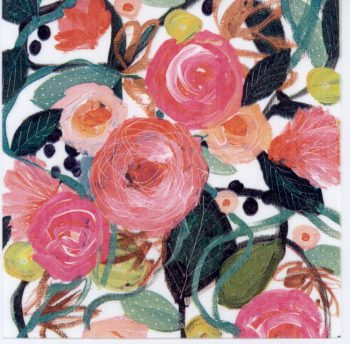 Decoupage Paper Napkins | Water Color of Red Roses