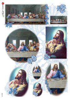Decoupage Rice Paper | Jesus & The Last Supper