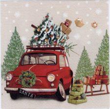 Event Paper Napkins Christmas Shopping Rush