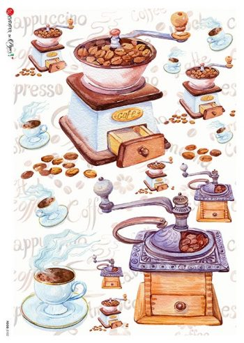 Italian Rice Paper Coffee Espresso Cappuccino