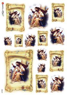 Italian Rice Paper for Decoupage | Jesus & Children