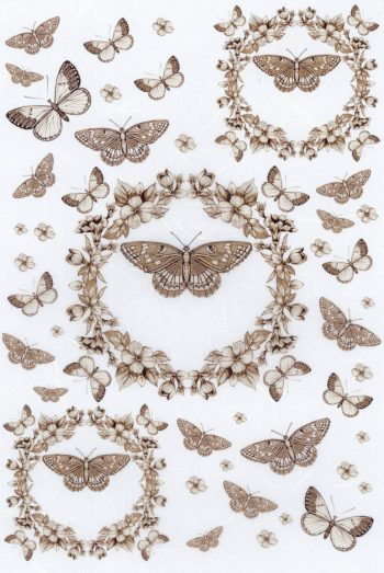 Decorative Mulberry Paper Flower Garlands & Butterflies