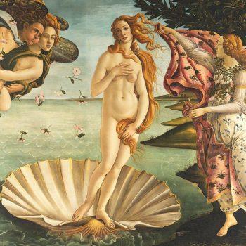 Paper Napkins Birth of Venus Botticelli