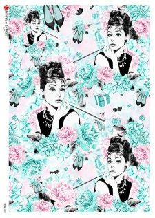 Decorative Rice Paper | Audrey Hepburn Breakfast at Tiffany's