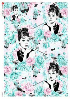 Decorative Rice Paper | Audrey Hepburn Breakfast at Tiffany's