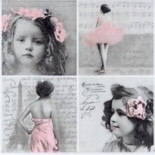 paris girls in pink