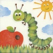 caterpillar & apple