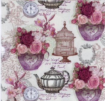 vintage tea pot at chiarotino