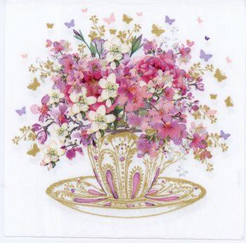 tea cup blossoms