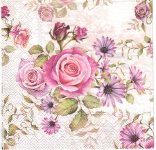 roses in pattern