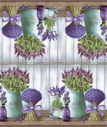 lavender in bottles