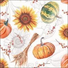 pumpkins & sunflowers