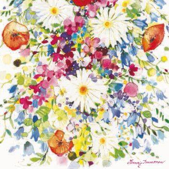 impression flower painting