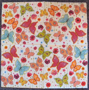 Decoupage Paper Art Napkin | Butterflies