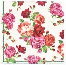 Decoupage Paper Art Napkin | Shower of Roses
