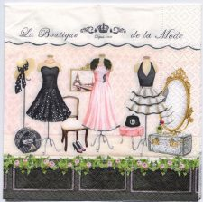 Decoupage Paper Art Napkin | La Boutique de la Mode