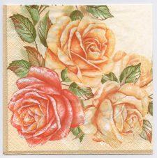 Decoupage Paper Art Napkin | Rose Bays