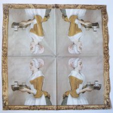 Paper Napkin | Chocolate Girl
