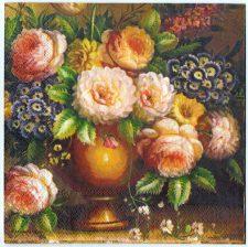 Paper Napkin | Floral Still Life