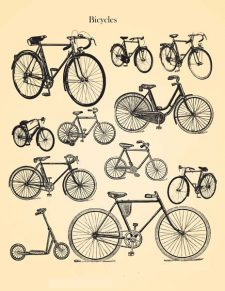 Decoupage Instant Download | Vintage Bicycles
