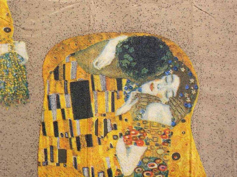 Decoupage Napkins Of Gustav Klimt S Der Kuss The Kiss On