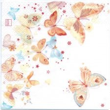 Decoupage Paper Napkins | Darling Butterflies  | Paper Napkins for Decoupage