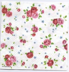 Paper Napkin | A Multitude of Roses