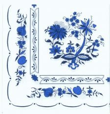 Decoupage Paper Napkins | Zwiebelmuster(Blue Onion) Porcelain Pattern  | Zwiebelmuster Napkins | Paper Napkins for Decoupage