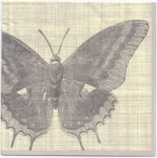 Decoupage Paper Napkins | Botanical Butterfly | Paper Napkins for Decoupage