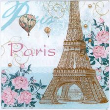 Event Paper Napkins Vintage PAris